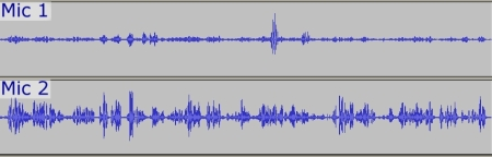Sound Recording Example 1 wave data